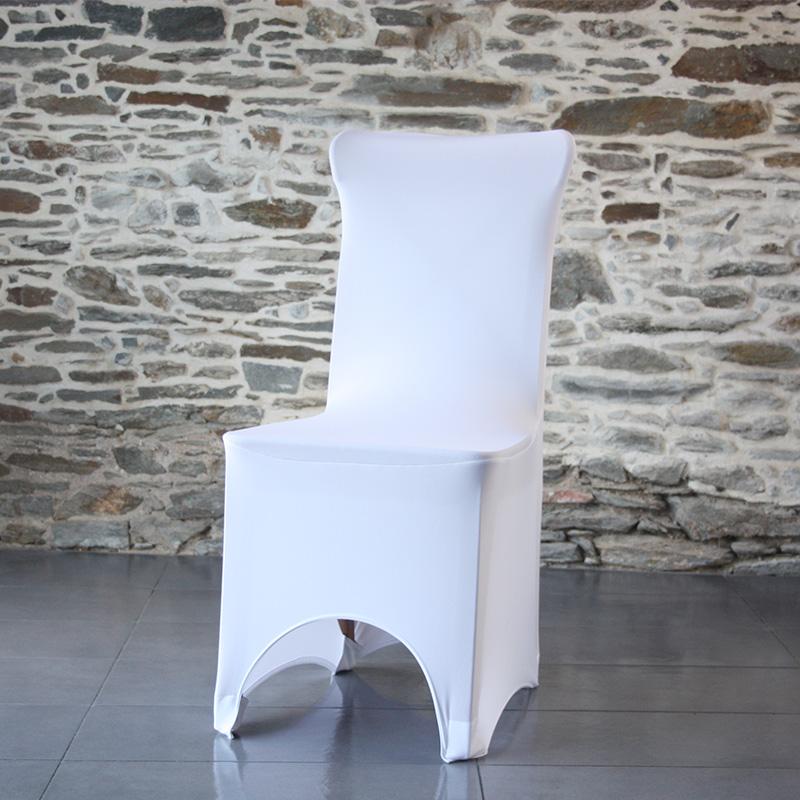Housse lycra pour chaise banquet