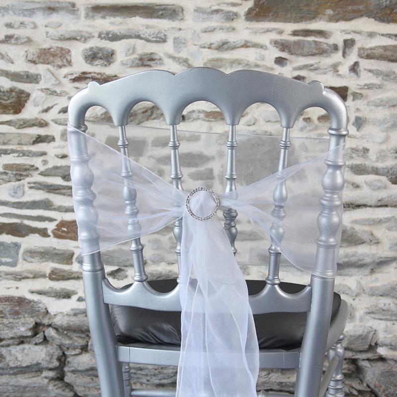 nœud de chaise accessoirisé avec strass