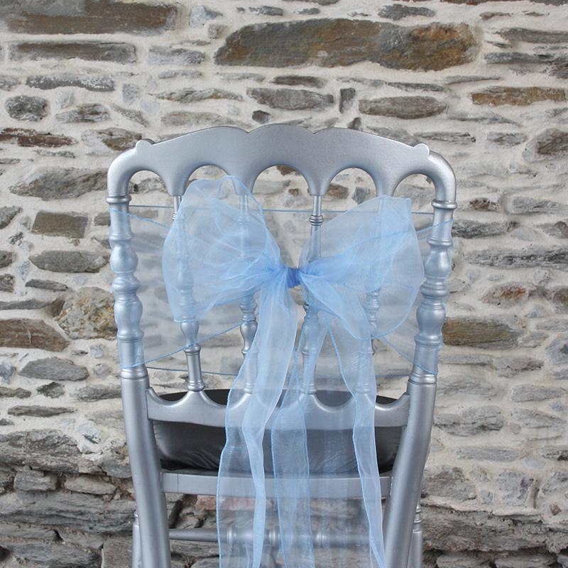 comment faire un noeud de chaise mariage organza