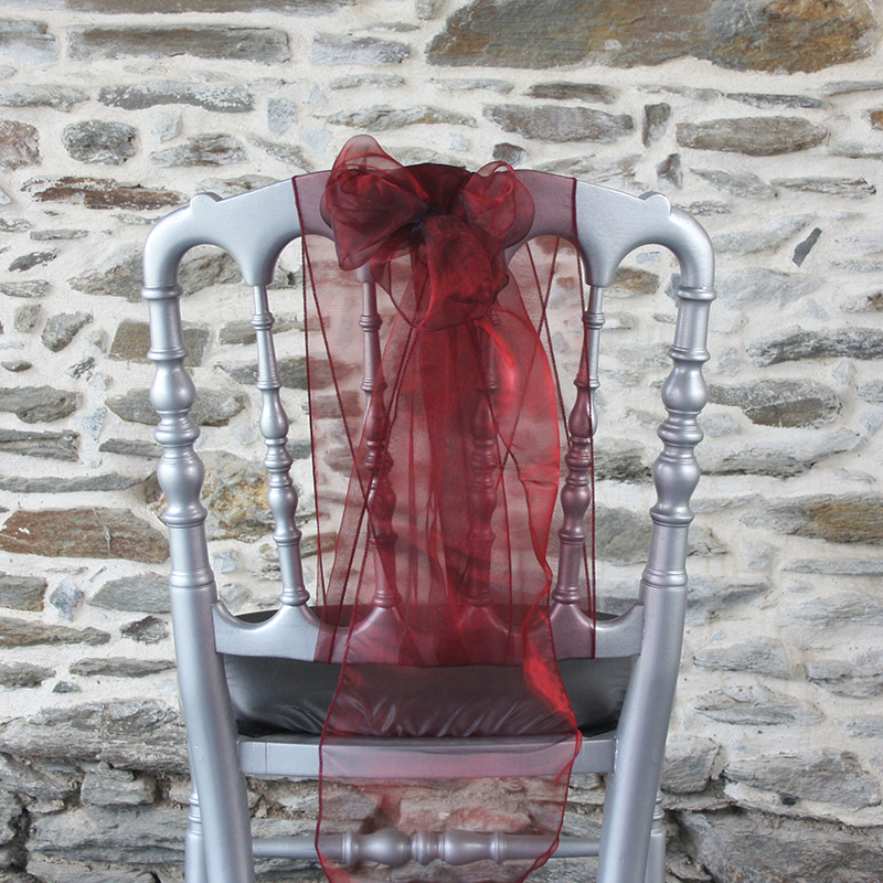 nœud de chaise original, à la verticale