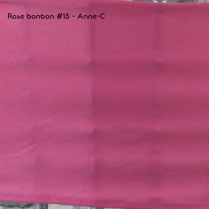 Lycra Rose bonbon 15 Anne-C
